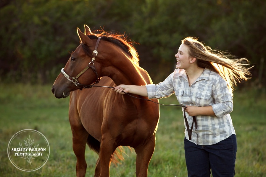 Aimee & her horse Cisco