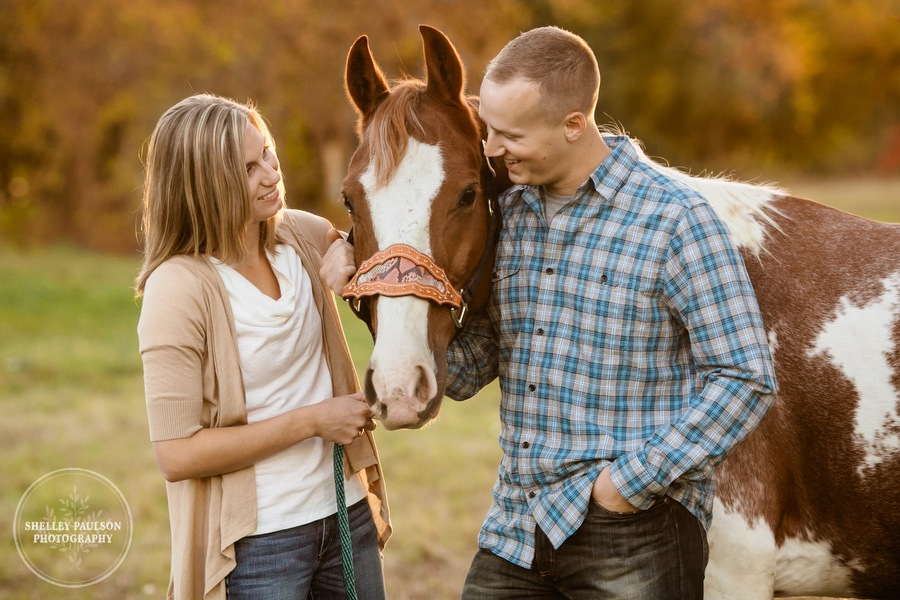 Jenny and Nils, Autumn, Horses & Memories