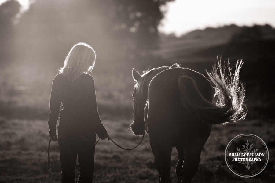 Jaime and her horse Sunny