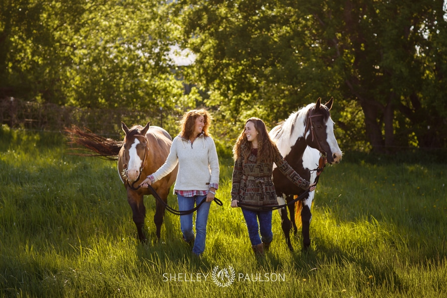 Patti and Molly – Mother/Daughter Equine Photo Shoot