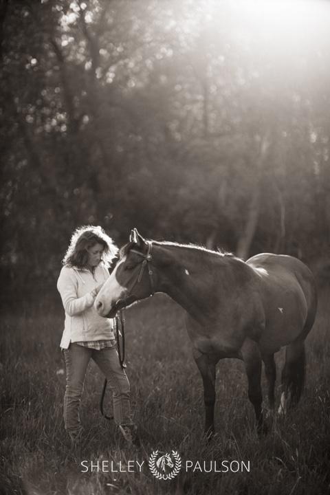 Mother Daughter Equine Photos Minnesota