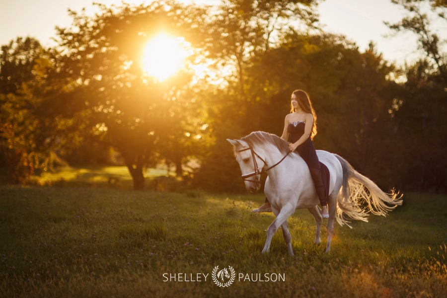 Annika's Dreamy Equestrian Senior Photos