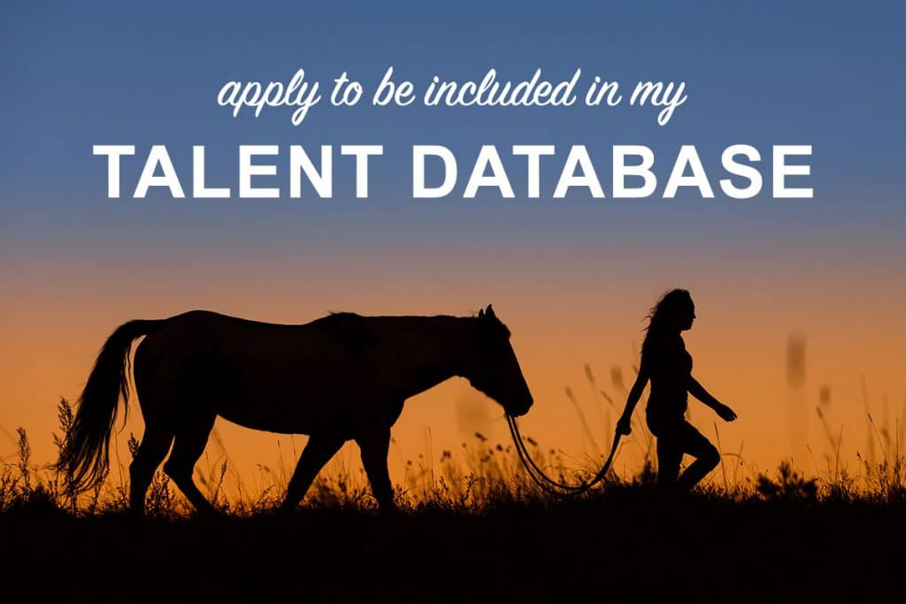 Equine & Equestrian Talent Database