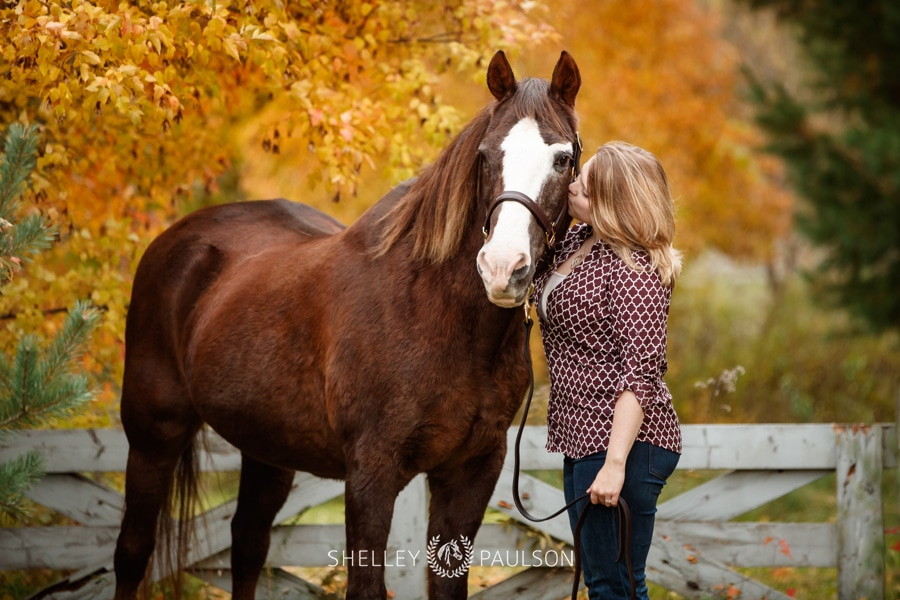 Cady's Remember Session with her horse Mark