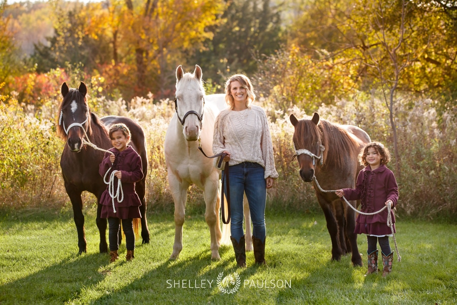 Mother-Daughter Photos with Horses