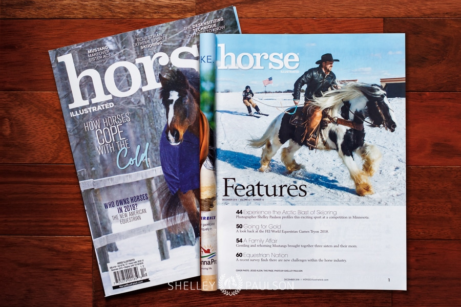 Skijoring Photos and Magazine Feature