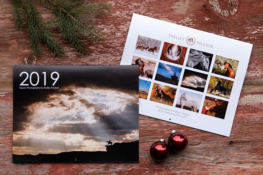 2019 Horse Photography Calendars