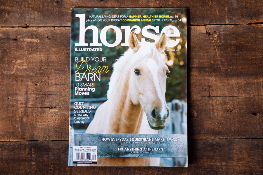 Cover Photo of Horse Illustrated