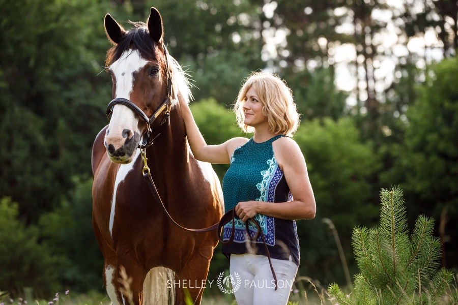 Equestrian Portraits with Rachel and Titan