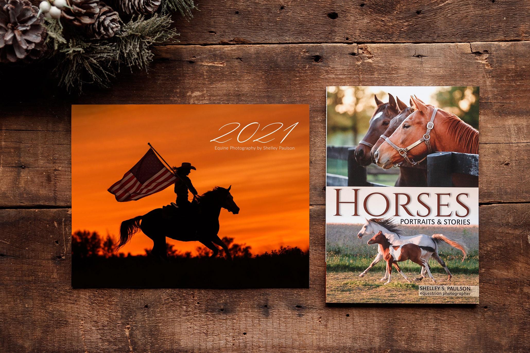 2021 Equine Photography Calendar + Book