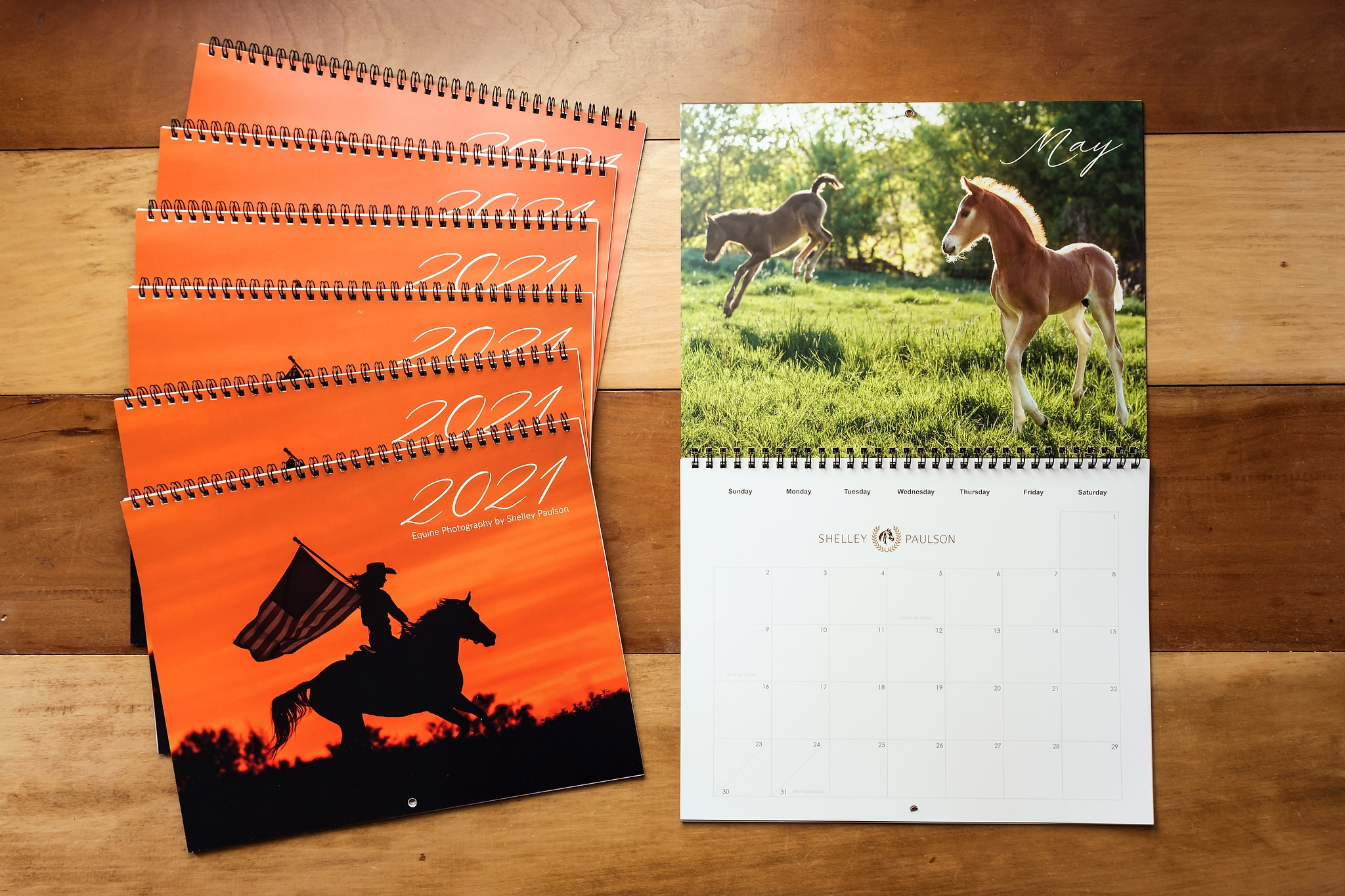2021 Equine Photography Calendar