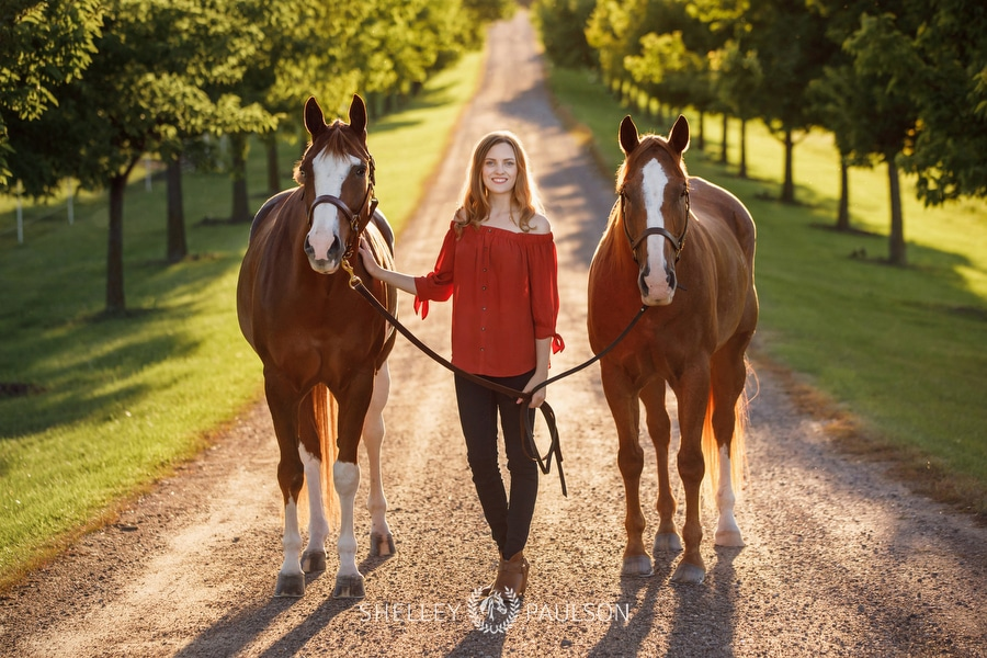 Equine Senior Portraits with Stephanie, Max &  Nash