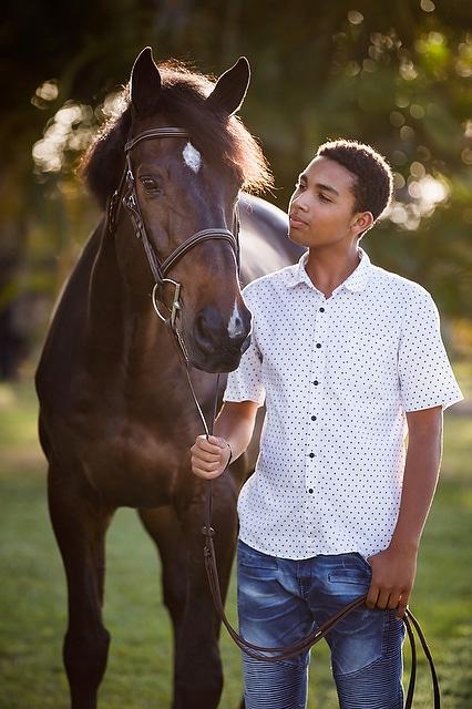 Horses & People, English