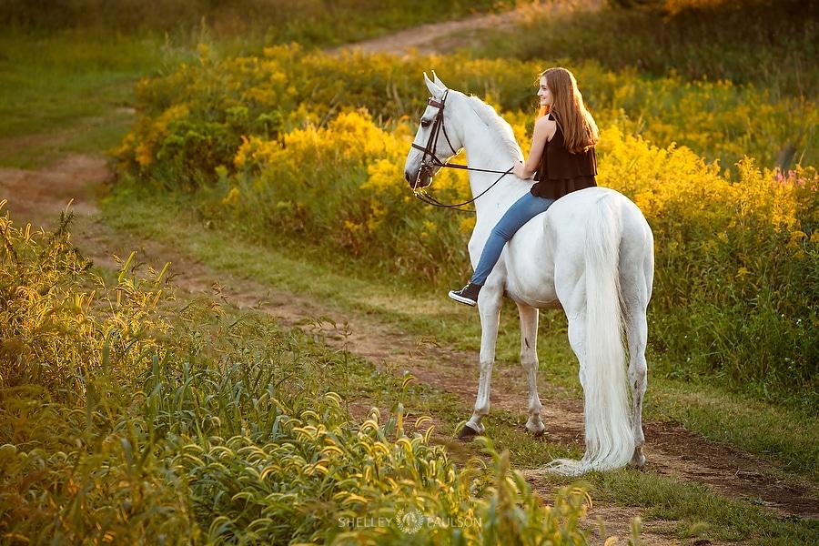 Equestrian Senior Photo